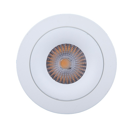 Fixed Texture White 10W Downlight cutout 90mm