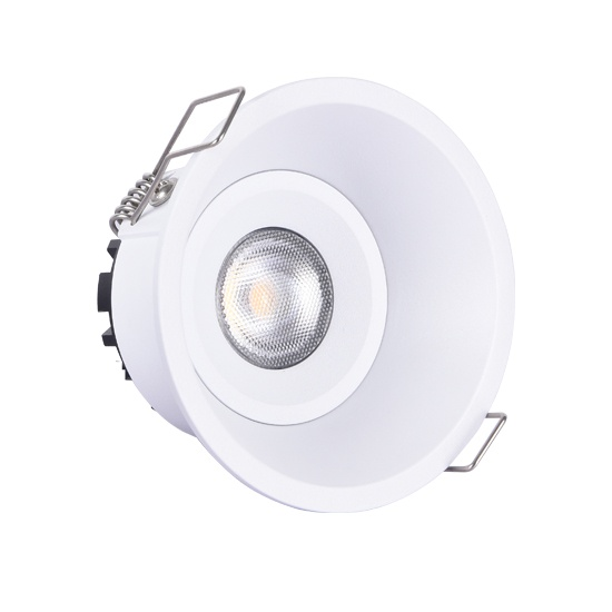 Height<55mm Fixed 10W Warmdim led downlight cutout 83mm